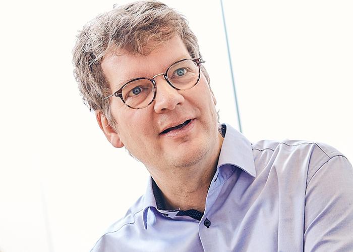 Peter Brandt, Abteilungsleiter Wissenstransfer vom DIE Bonn, Foto: Marco Rothbrust