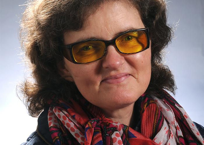 Christiane Bernshausen, Leiterin der Regionalgruppe Münster von PRO RETINA Deutschland e.V. Foto: privat